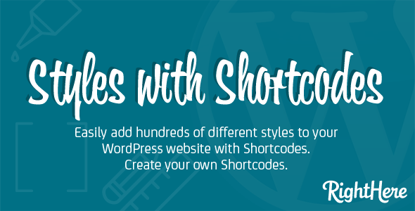 CodeCanyon – Styles with Shortcodes for WordPress v1.8.4