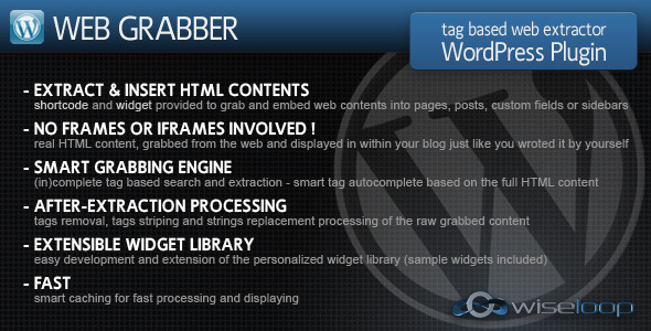 CodeCanyon – Web Grabber v4.1.1 – WordPress Plugin