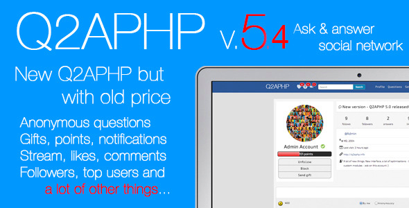 Codecanyon – Q2APHP – q&a social network Plugin
