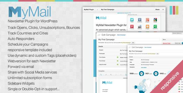 CodeCanyon – MyMail v1.6.2 – Email Newsletter Plugin