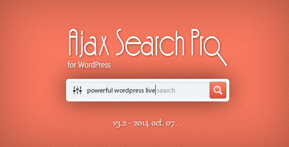 Ajax Search Pro v3.1 Plugin for WordPress
