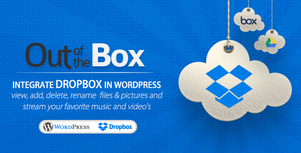 Out-of-the-Box v1.2.2 Dropbox plugin for WordPress