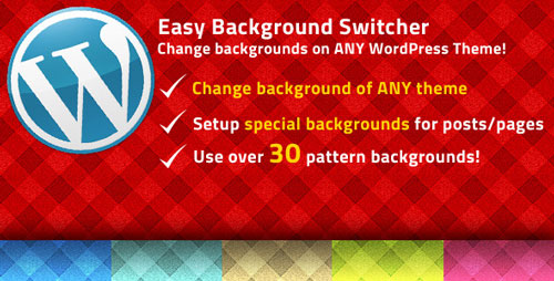 WP Easy Background Switcher V.1.0 Plugin