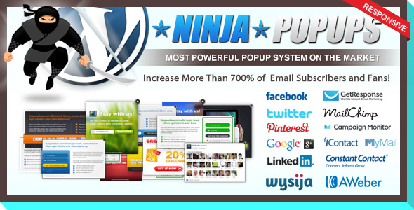 CodeCanyon – Ninja Popups v2.4 for WordPress