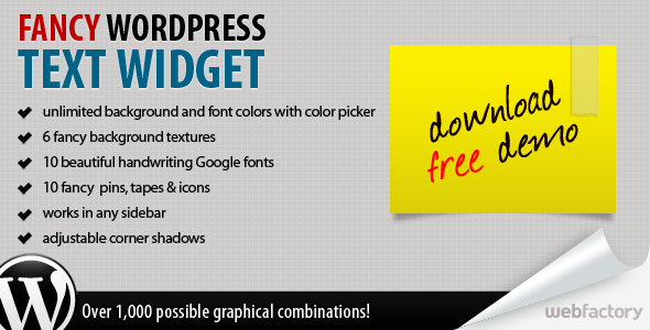 CodeCanyon – Fancy Text Widget