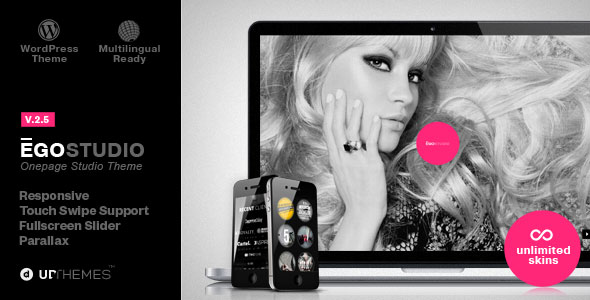 Ego v2.5 – Onepage Parallax Responsive