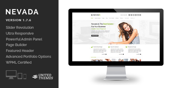 Nevada – Responsive Multi-Purpose Theme