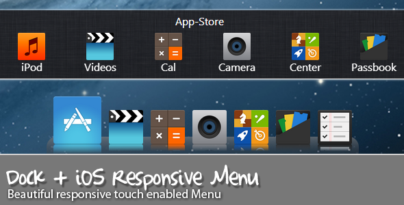 CodeCanyon – Dock Menu
