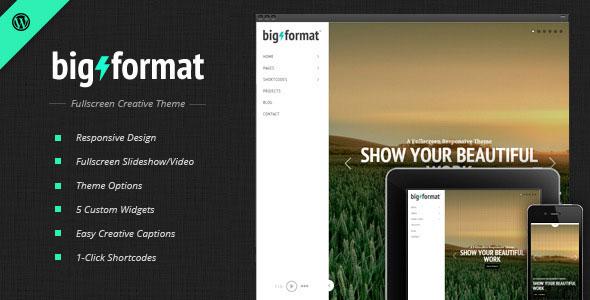 BigFormat v1.4 – Responsive Fullscreen