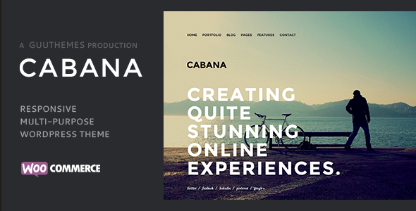 Cabana - Responsive Creative WordPress Theme