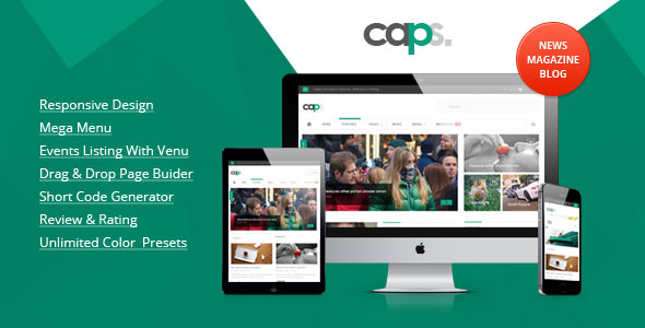Caps Responsive News Magazine