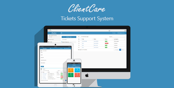 ClientCare - Tickets Support System