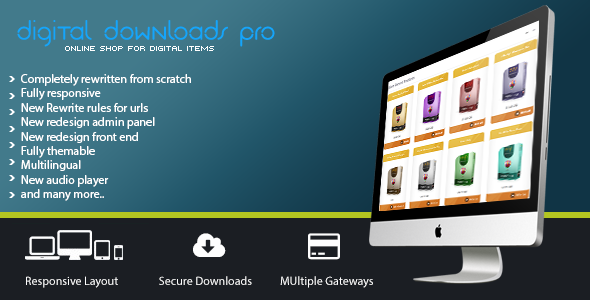 Digital Downloads Pro