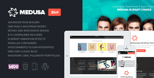 Medusa Responsive Multi-Purpose Theme