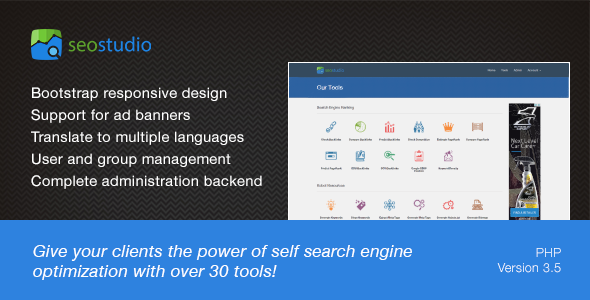 SEO Studio - Tools for Search Engine Optimization