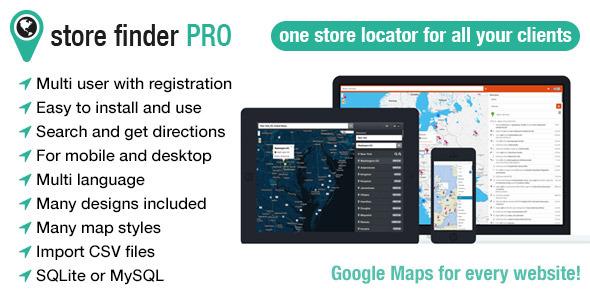 Store Finder Pro