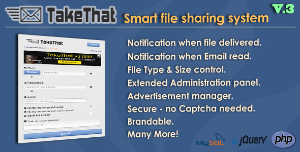 TakeThat! file sharing system