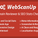 WebScanUP v1.6 – Domain Reviewer & SEO Stats Checker