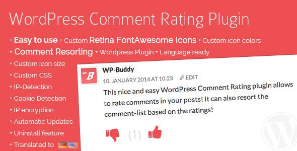 WordPress Comment Rating v.1.0.2 Plugin