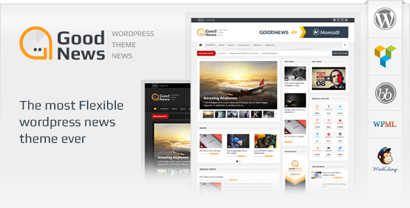 Goodnews – Responsive WordPress News Magazine