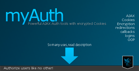 myAuth -Powerful Auth tools w encrypted Cookies