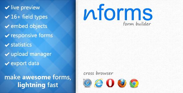 nForms - Form Builder & Management