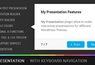 My Presentation  ver 0.8 Плагин WP