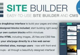 sitebuilder  Лайт версии v1.3 -конструктор сайтов и CMS